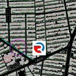 نقشه utm یو تی ام 2000 ام برای شهرداری های تهران