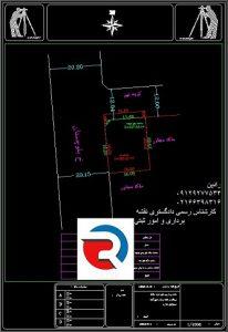 نقشه دو خطی برای شهرداری و ثبت